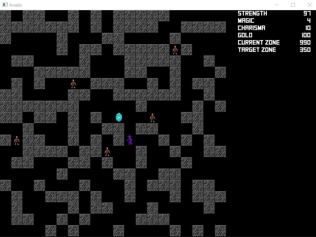 Arrakis screenshot