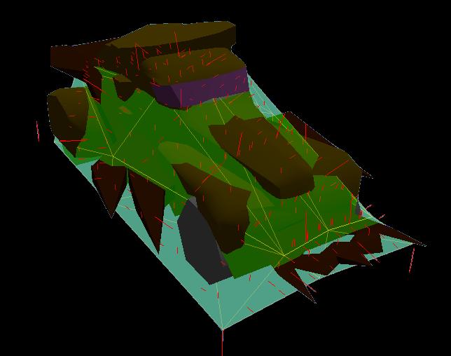 Vehicle's collision shape