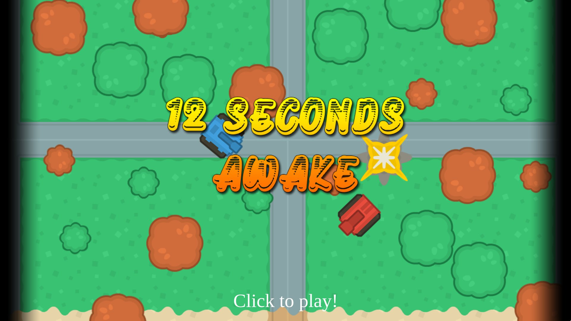 Title screen: click to play