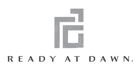 Ready at Dawn logo