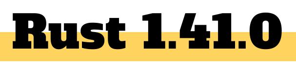 Rust 1.41