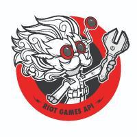 Riot Games API logo: steampunk
