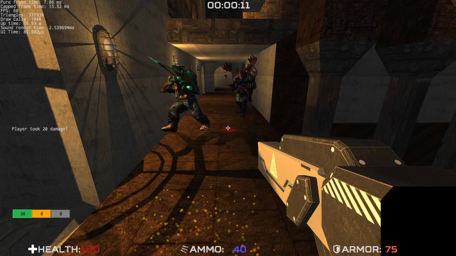 Rusty Shooter in-game screenshot
