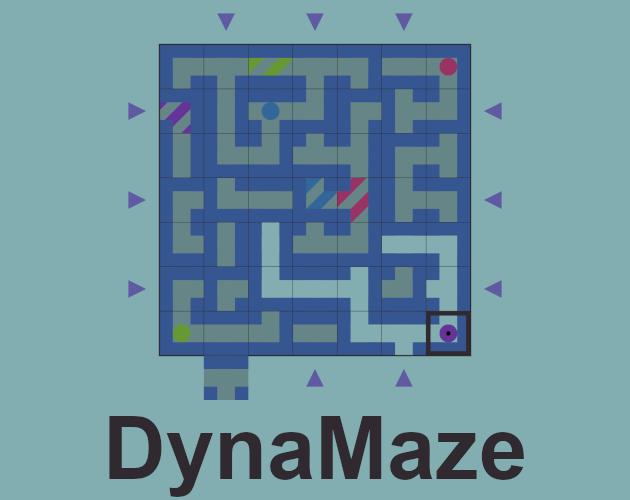 DynaMaze promotional image