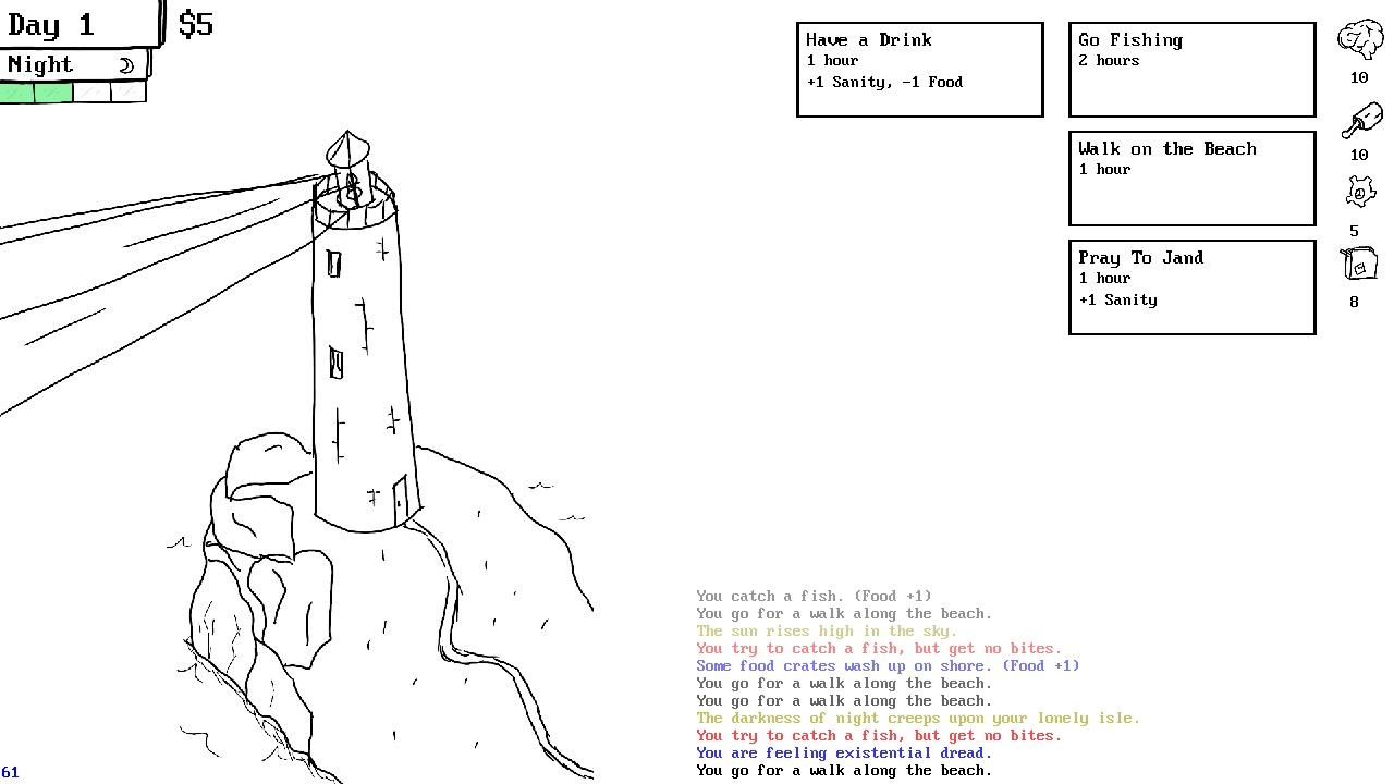 lighthouse keeper screenshot