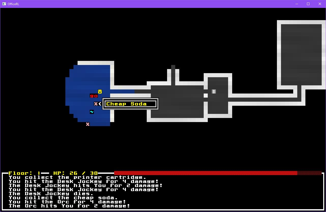 OfficeRL screenshot