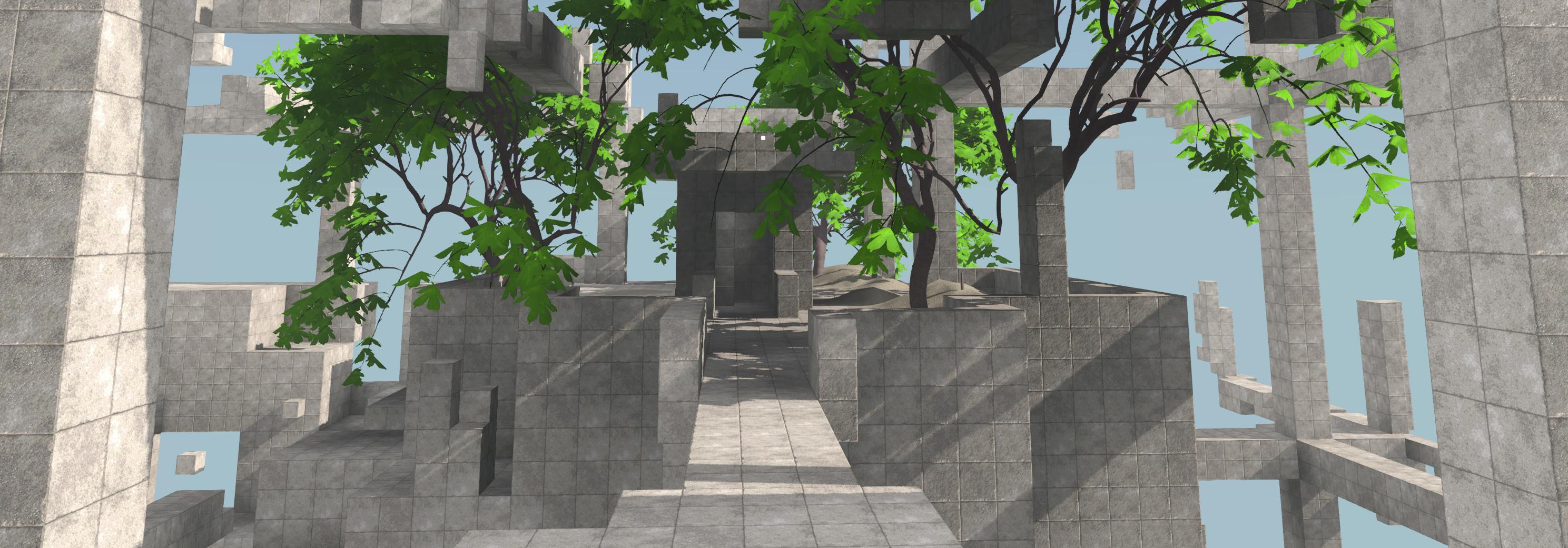 screenshot: buildings & trees