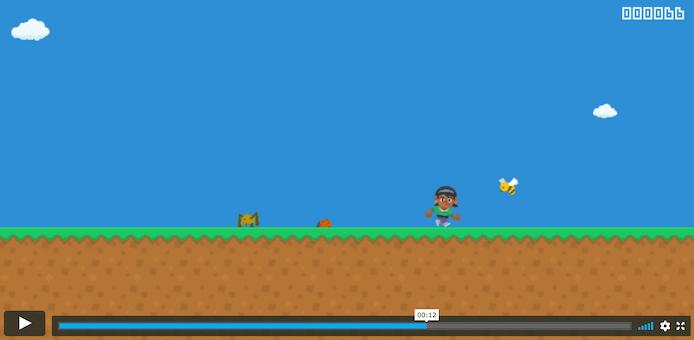 Runner gameplay sample