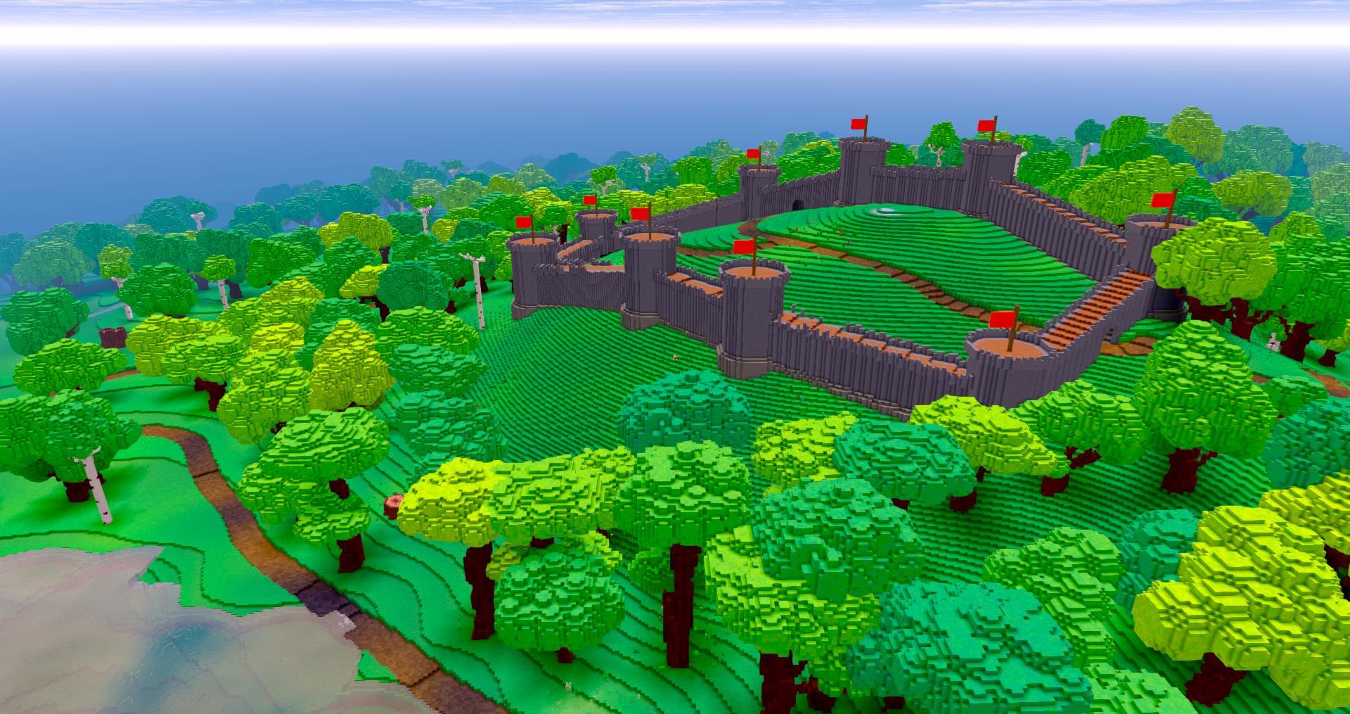 Work on castle generation