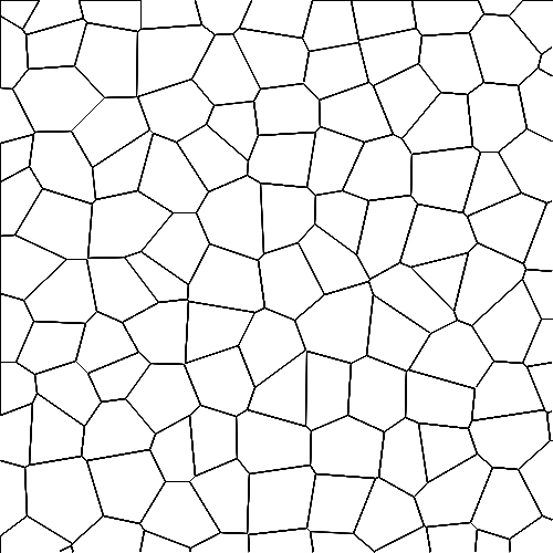 Voronoi diagram example