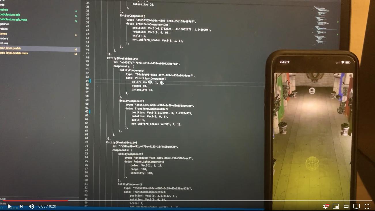 Vulkan renderer on iOS prototype