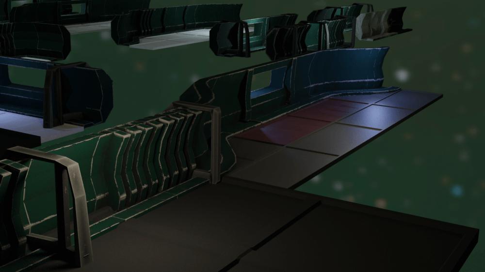 Demo of the basic ship collision