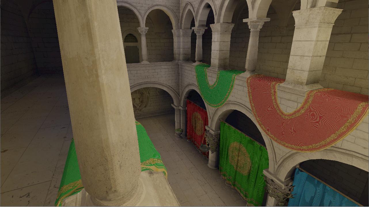 Demo: sponza atrium