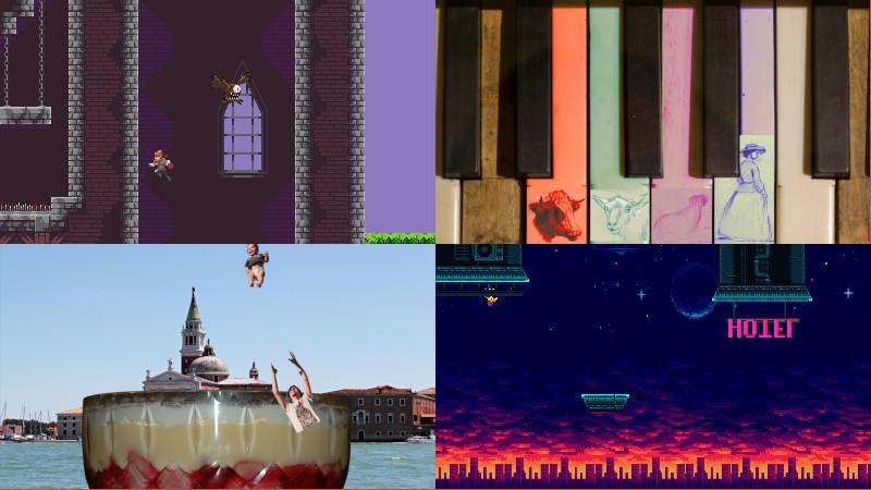 Four Weegames minigames