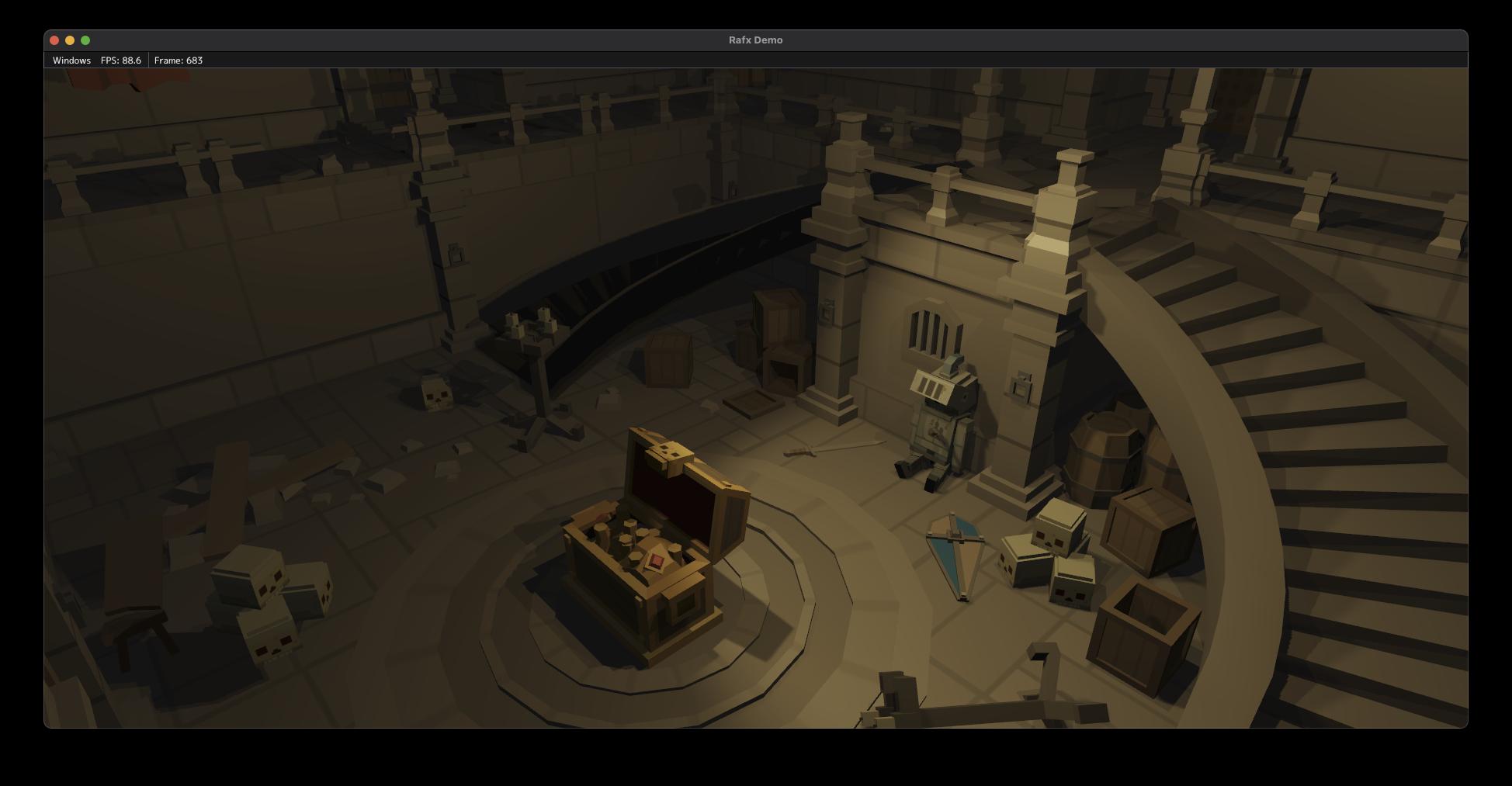 Screenshot from Rafx Rendering Framework