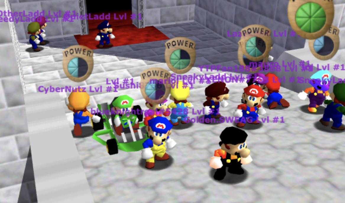 Super Mario 64 JavaScript