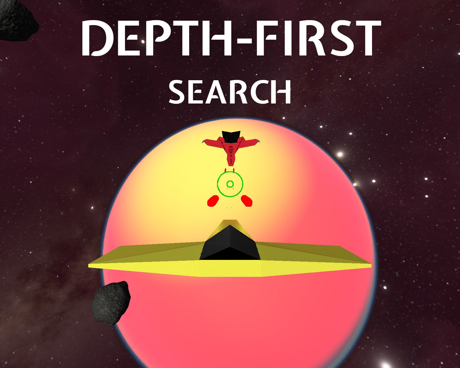 Depth-First Search's title card