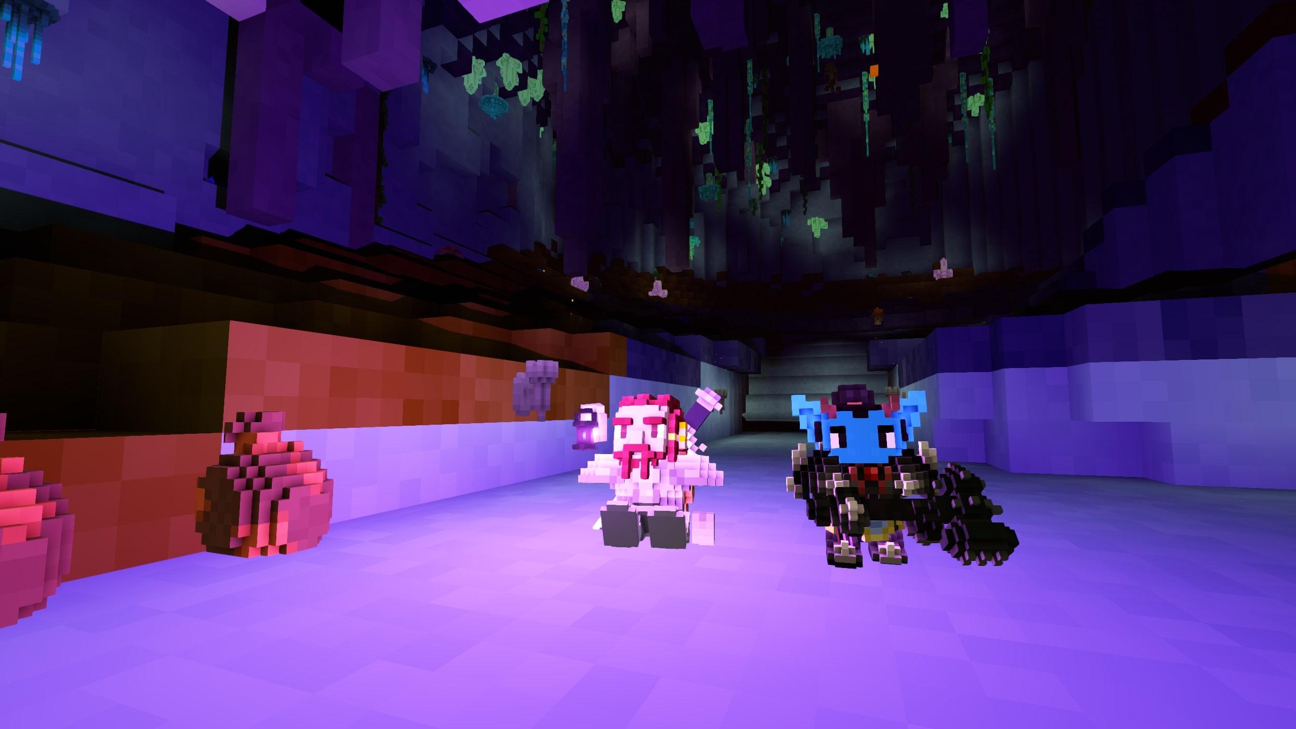 Exploring dungeons